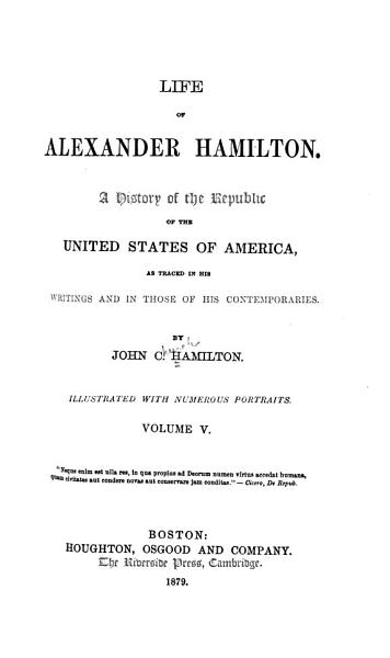 Download History of the Republic of the United States of America Book