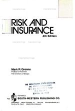Student Study Guide [to] Risk and Insurance
