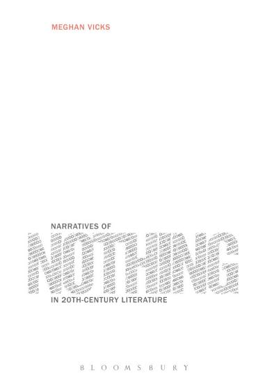 Narratives of Nothing in 20th Century Literature PDF