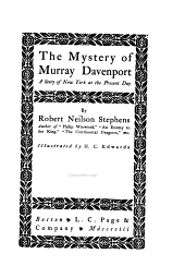 The Mystery of Murray Davenport: A Story of New York at the Present Day
