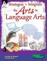 Strategies to Integrate the Arts in Language Arts PDF