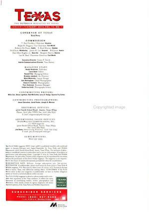 Texas Parks   Wildlife PDF