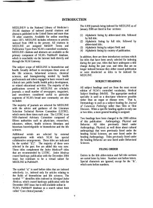 List of Journals Indexed for MEDLINE PDF