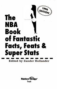 The NBA Book of Fantastic Facts  Feats   Super Stats PDF