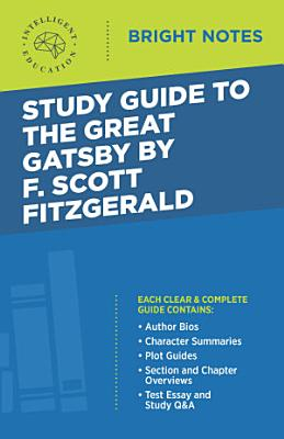 Study Guide to The Great Gatsby by F  Scott Fitzgerald PDF