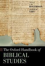The Oxford Handbook of Biblical Studies PDF