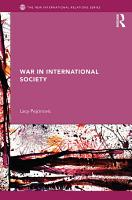 War in International Society PDF