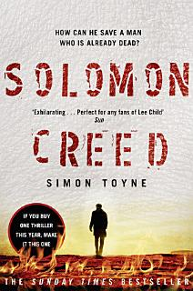Solomon Creed  The only thriller you need to read this year Book