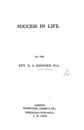 Success in Life. [An address.]