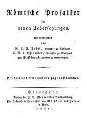 Werke: Briefe ; 5. Bändchen ; Briefe an Atticus, erstes Buch (Schluß) und zweites Buch. 55