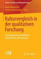 Kulturvergleich in der qualitativen Forschung PDF
