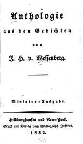 Anthologie aus den Gedichten