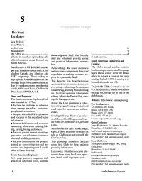 South American Explorer PDF