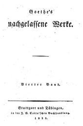 Goethes Werke: Benvenuto Cellini