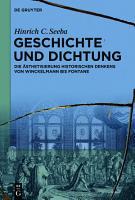 Geschichte und Dichtung PDF