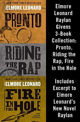 Elmore Leonard Raylan Givens 3 Book Collection