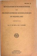 Biographisch woordenboek van protestantsche godgeleerden in Nederland PDF