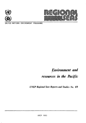 Environment and Resources in the Pacific