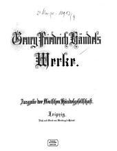 Georg Friedrich Händel's Werke: Herakles : Oratorium. 4