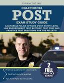 California Police Officer Exam Study Guide