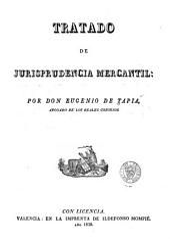 Tratado de jurisprudencia mercantil
