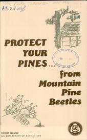 Protect your pines from mountain pine beetles