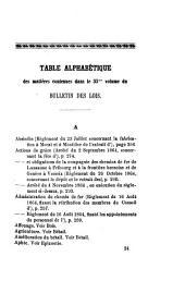 BULLETIN OFFICIEL DES LOIS, DÉCRETS, ARRÊTÉS ET AUTRES ACTES PUBLICS DU GRAND CONSEIL ET DU CONSEIL D'ETAT DU CANTON DE FRIBOURG.: Volume35
