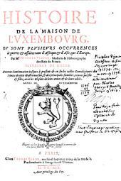 Histoire de la maison de Luxembourg