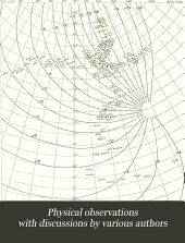 Physical Observations with Discussions by Various Authors