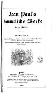 Jean Paul's sämmtliche Werke in vier Bänden