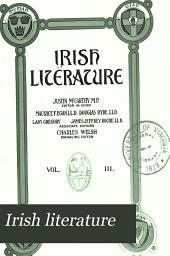 Irish Literature: Volume 3