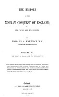 The History of the Norman Conquest of England  The reign of Harold and the interregnum  2d ed   rev  1875 PDF