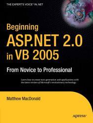 Beginning ASP NET 2 0 in VB 2005 PDF