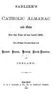 Sadliers  Catholic Directory  Almanac and Ordo PDF