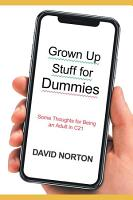 Grown Up Stuff for Dummies PDF