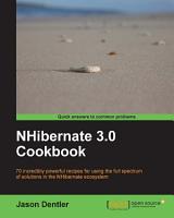 NHibernate 3 0 Cookbook PDF