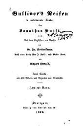 Gulliver's Reisen in unbekannte Länder: Band 2