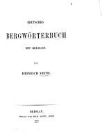 Deutsches Bergw  rterbuch PDF