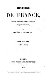 Histoire de France: Volume7