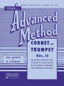Rubank Advanced Method - Cornet Or Trumpet