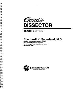 Grant s Dissector PDF