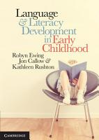 Language and Literacy Development in Early Childhood PDF