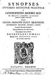 Synopses epitomes institutionum Medicinae