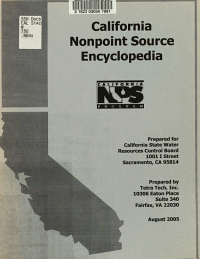 California Nonpoint Source Encyclopedia PDF