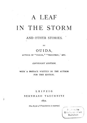 A Leaf in the Storm PDF