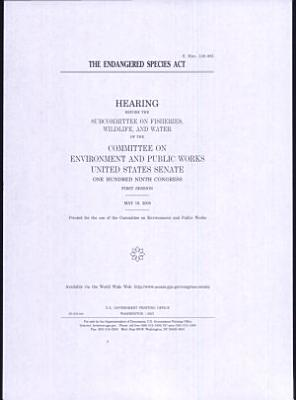Endangered Species Act   hearing