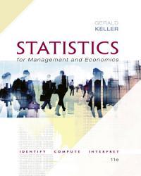 Statistics For Management And Economics Xlstat Bind In Book PDF