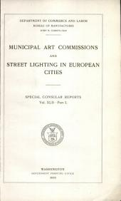 Municipal art commissions and street lighting in European cities ...