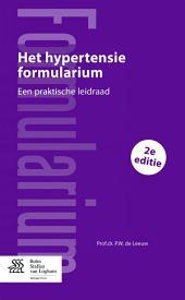 Het hypertensie Formularium: Een praktische leidraad, Editie 2