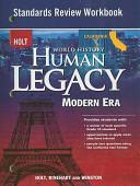 Holt California World History Human Legacy Modern Era Standards Review Workbook PDF